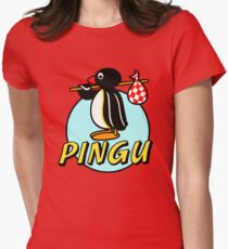 Penguin NUT Womens Fitted T-Shirt