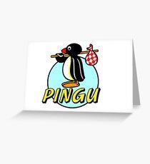 Penguin NUT Greeting Card