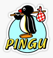Penguin NUT Sticker
