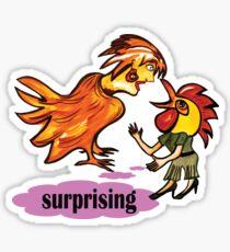 Surprising Sticker