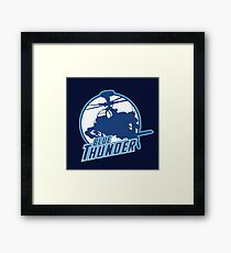 BLUE THUNDER - 80s TV SERIES Framed Print