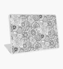 Black and white Laptop Skin