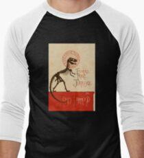 Tournee du Parc Jurassique Men's Baseball ¾ T-Shirt