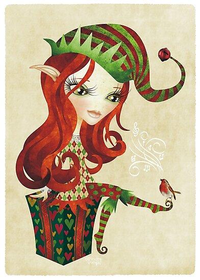 Elfie Elf by sandygrafik