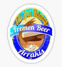 FREMEN BEER OLD SPICE MELANGE  Sticker