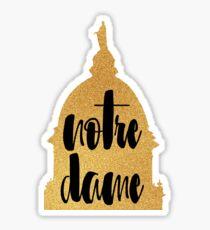 Golden Dome Sticker