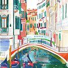 canal in Venice by Maja Wrońska