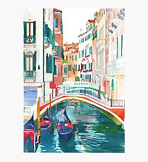 canal in Venice Photographic Print