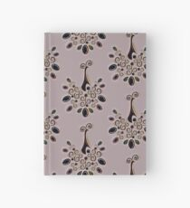 Peacock pattern  Hardcover Journal