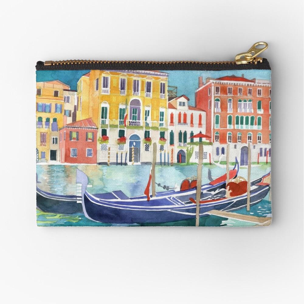 canal in Venice vol 2 Zipper Pouch