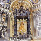 Saint Peter Basilica interior by Maja Wrońska