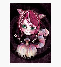 Cheshire Kitty Photographic Print