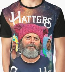 Hatters Gonna Hat Graphic T-Shirt