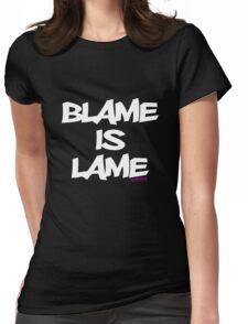 BLAME IS LAME! (white) T-Shirt