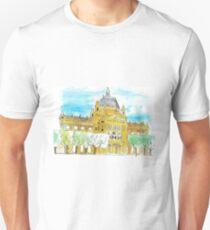 Zagreb Art Pavilion Urban Sketch T-Shirt