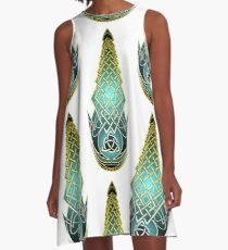 Persian Creed A-Line Dress