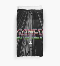 Gamer - Retro Arcade Pixel Text Duvet Cover