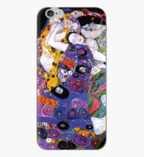 The Virgin by Gustav Klimt Fine Art  iPhone Case
