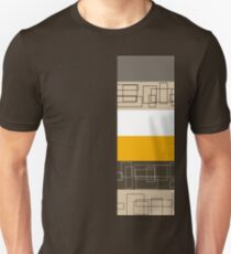 Yellow Stripe Unisex T-Shirt