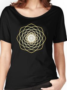 Many hearts - Gold Phi Spiral Women's Relaxed Fit T-Shirt
