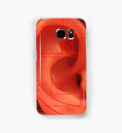 Phi, Ear and Spirals Samsung Galaxy Case/Skin