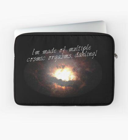 i'm made of multiple cosmic orgasms, dahling! Laptop Sleeve