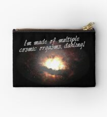 i'm made of multiple cosmic orgasms, dahling! Studio Pouch