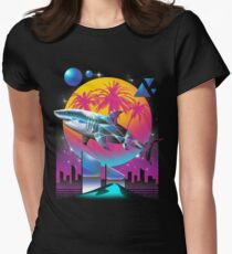Rad Shark Women's Fitted T-Shirt