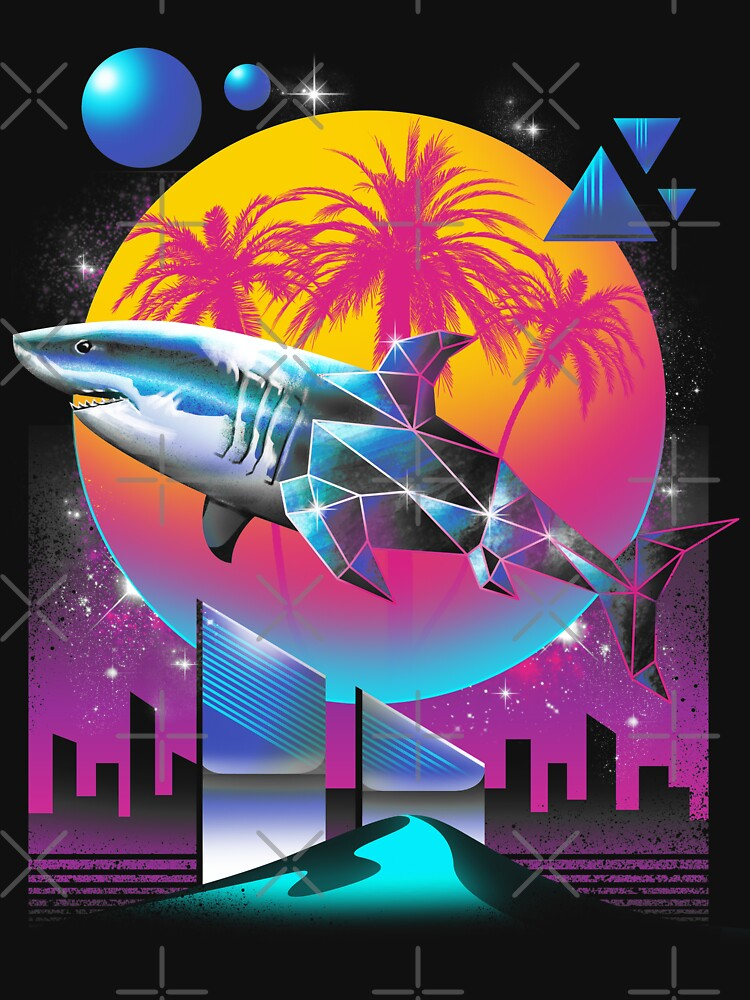 Rad Shark by vincenttrinidad