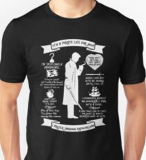 Captain Quotes Unisex T-Shirt