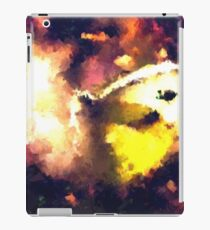 abstract butterfly insect flowers iPad Case/Skin