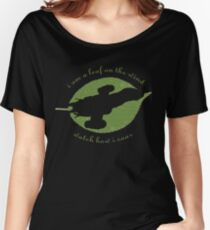Firefly - Leaf on the Wind Women's Relaxed Fit T-Shirt