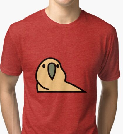 PartyParrot - Yellow Tri-blend T-Shirt