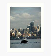 Sydney Harbour New South Wales Australia Art Print