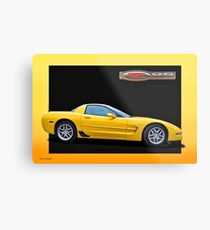 2006 Corvette Z06 '50th Anniversary Edition' 3 Metal Print