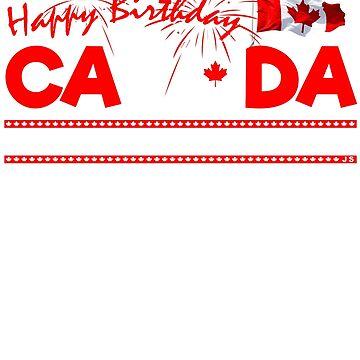 Alles Gute zum Geburtstag Kanada 150 Jahre Awesomeness von TheFlying6