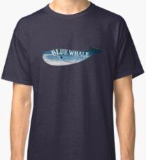 A Blue Whale Casts Dark Shadows Classic T-Shirt