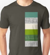 Green Stripe Unisex T-Shirt