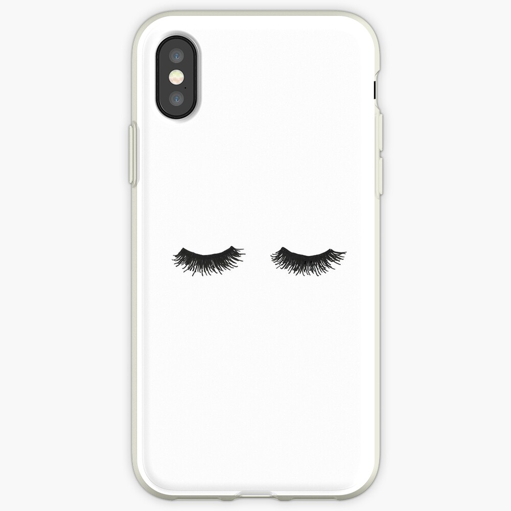 Wimpern iPhone-Hülle & Cover