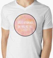 Christian Quote Men's V-Neck T-Shirt