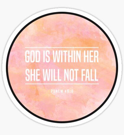 Christian Quote Sticker