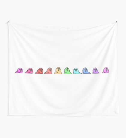 PartyParrot - Conga Line Wall Tapestry