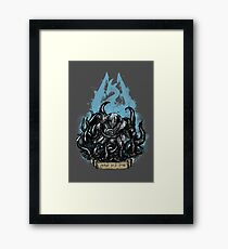 Use Fus Ro Dah! Framed Print