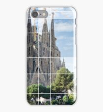 La sagrafa familia, Barcelona iPhone Case/Skin