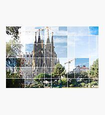 La sagrafa familia, Barcelona Photographic Print