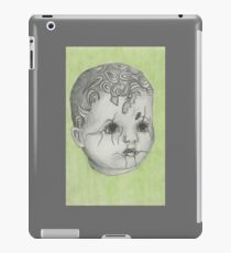 Cracked Baby Doll iPad Case/Skin