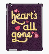 Heart's All Gone iPad Case/Skin