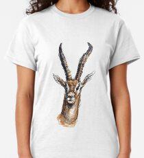Wire Gazelle (Colour) Classic T-Shirt