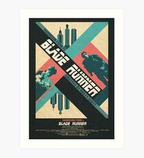 Ridley Scott's Blade Runner Film Poster Art Print