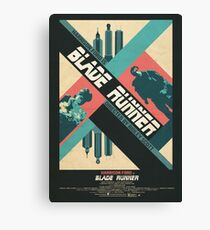 Ridley Scott's Blade Runner Film Poster Canvas Print
